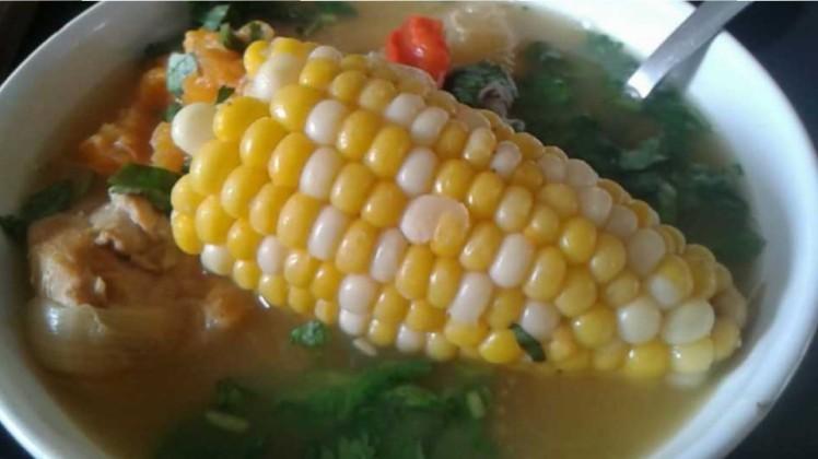 Nicaraguan Chicken Soup!